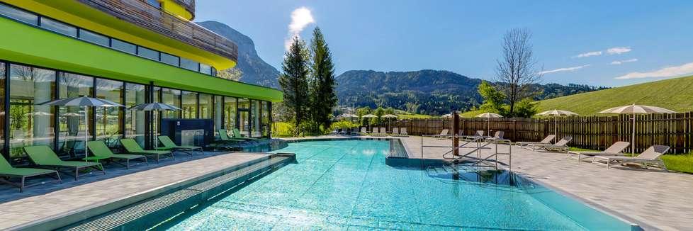 Wellness Hotels mit Außenpool